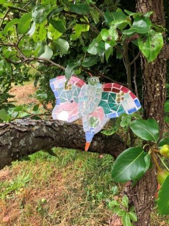 Papillon-mosaïque