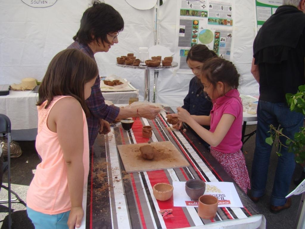 Stand des Vergers : Poterie