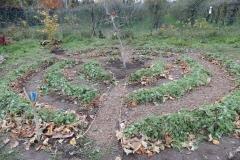 Le mandala Peace & Love prêt pour l'hiver