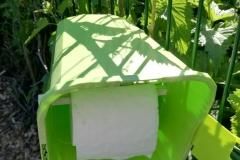 C'est un dérouleur de papier toilette !