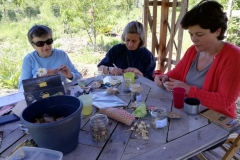 Atelier de confection de sachets de graines