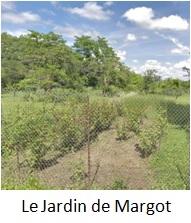 Bouton vers Le Jardin de Margot